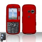 Red Cover Case Snap on Protector for LG Rumor 2 LX265