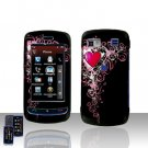 Heart Design Cover Case Snap on Protector for LG Xenon GR500