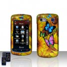 Yellow Flowers Cover Case Snap on Protector for LG Xenon GR500