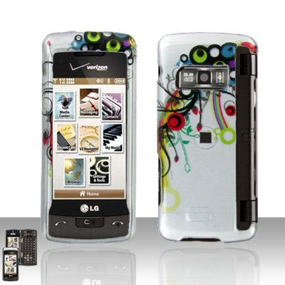 Colorful Design Cover Case Snap on Protector for LG enV TOUCH VX11000