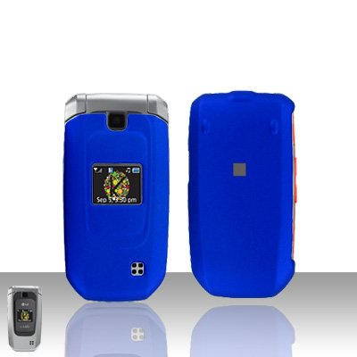 Blue Cover Case Snap on Protector for LG Helix LW310 UX310