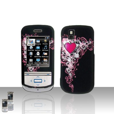 Heart Cover Case Snap on Protector for LG Shine II 2