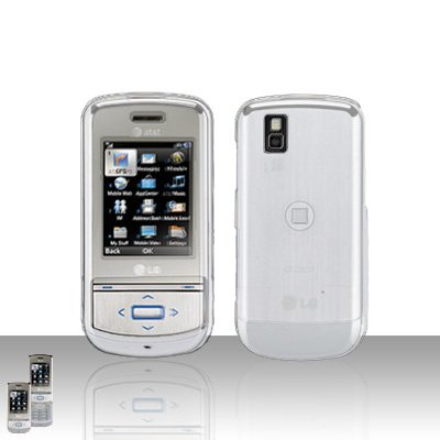 Clear Transparent Cover Case Snap on Protector for LG Shine II 2