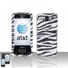 Zebra Cover Case Snap on Protector for LG eXpo GW820