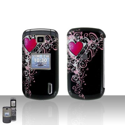 Heart Cover Case Snap on Protector for LG Accolade VX5600