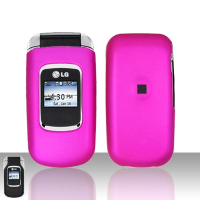 Pink Cover Case Snap on Protector for LG UX220