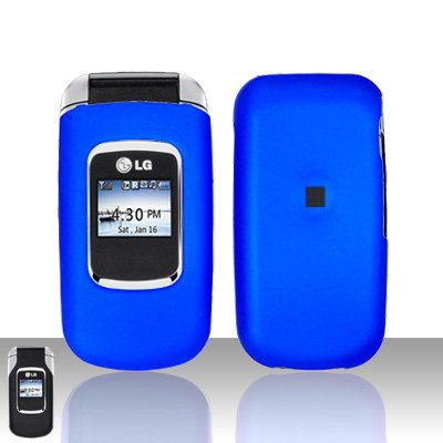 Blue Cover Case Snap on Protector for LG UX220