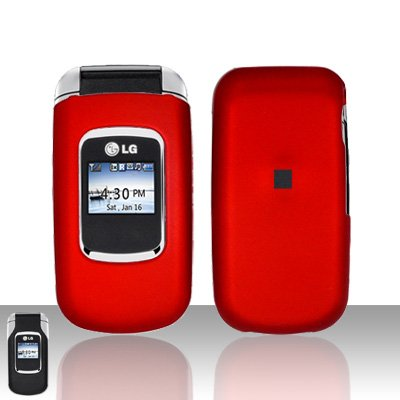 Red Cover Case Snap on Protector for LG UX220