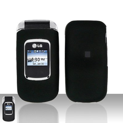 Black Cover Case Snap on Protector for LG UX220