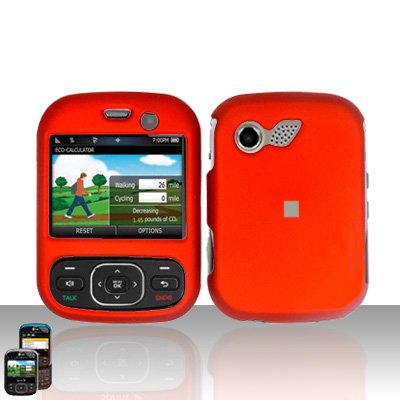 Orange Cover Case Snap on Protector for LG Remarq LN240