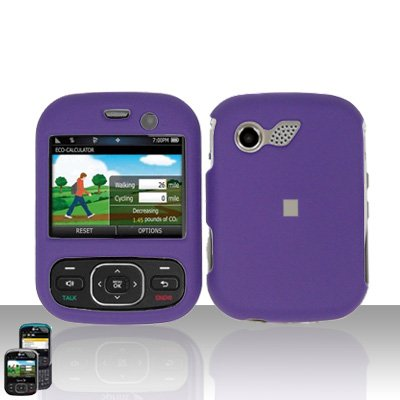 Purple Cover Case Snap on Protector for LG Remarq LN240