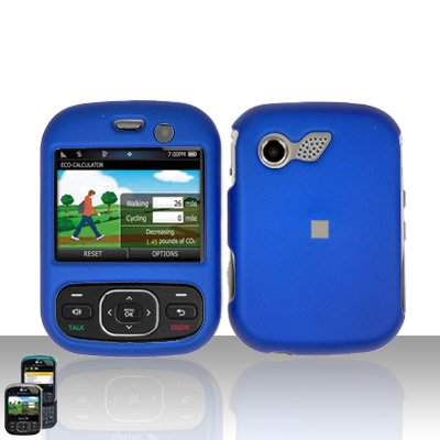 Blue Cover Case Snap on Protector for LG Remarq LN240