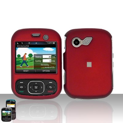 Red Cover Case Snap on Protector for LG Remarq LN240