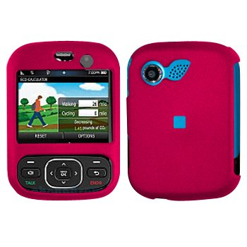 Pink Cover Case Snap on Protector for LG Imprint MN240