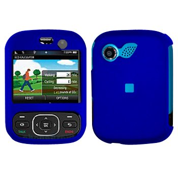 Blue Cover Case Snap on Protector for LG Imprint MN240