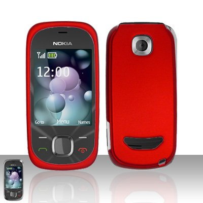 Nokia 7230 Red Cover Case Snap on Protector