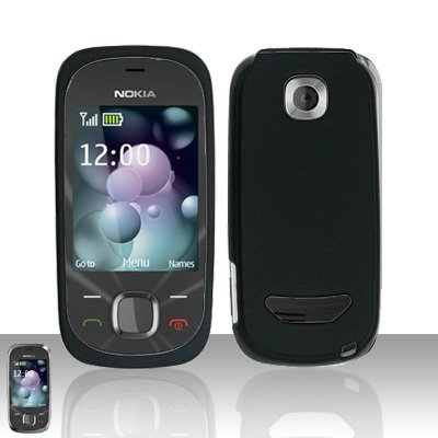Nokia 7230 Black Cover Case Snap on Protector