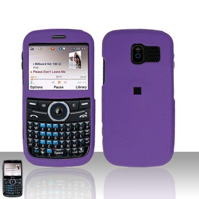 Pantech Link P7040 Purple Cover Case Snap on Protector P 7040