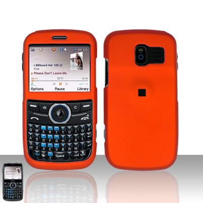 Pantech Link P7040 Orange Cover Case Snap on Protector P 7040