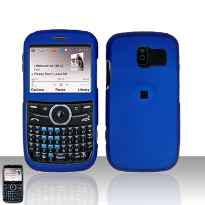 Pantech Link P7040 Blue Cover Case Snap on Protector P 7040