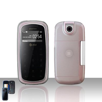 Pantech Impact P7000 Clear Transparent Cover Case Snap on Protector P 7000