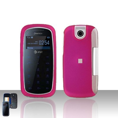 Pantech Impact P7000 Pink Cover Case Snap on Protector P 7000