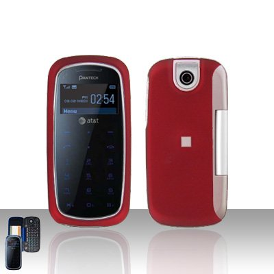 Pantech Impact P7000 Red Cover Case Snap on Protector P 7000