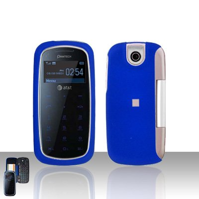 Pantech Impact P7000 Blue Cover Case Snap on Protector P 7000