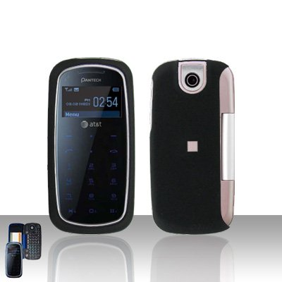 Pantech Impact P7000 Black Cover Case Snap on Protector P 7000