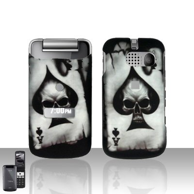 Sanyo Mirro 3810 Spade Skull Cover Case Snap on Protector