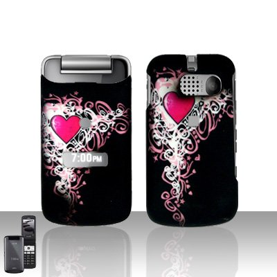 Sanyo Mirro 3810 Heart Cover Case Snap on Protector