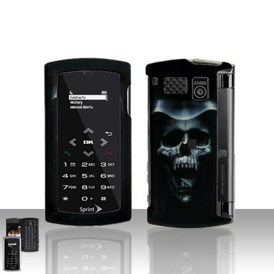 Sanyo Incognito 6760 Hooded Skull Cover Case Snap on Protector