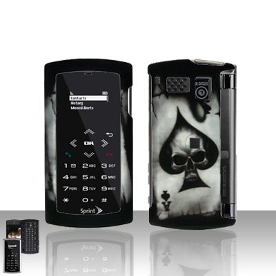 Sanyo Incognito 6760 Spade Skull Cover Case Snap on Protector