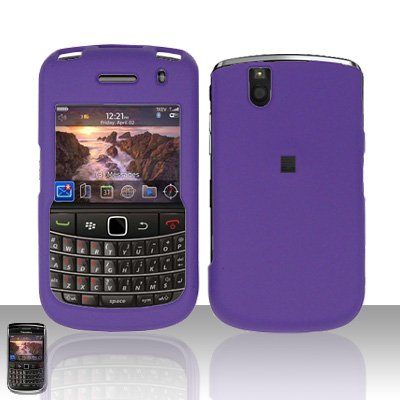 Blackberry Bold 9650 Purple Cover Case Snap on Protector