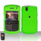 Blackberry Bold 9650 Neon Green Cover Case Snap on Protector