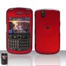 Blackberry Bold 9650 Red Cover Case Snap on Protector
