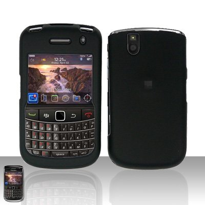 Blackberry Bold 9650 Black Cover Case Snap on Protector