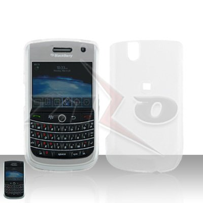 Blackberry Bold 9650 Clear Transparent Cover Case Snap on Protector