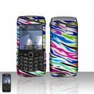 Blackberry Pearl 3G 9100 Rainbow Zebra Cover Case Snap on Protector