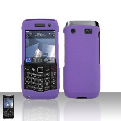 Blackberry Pearl 3G 9100 Purple Cover Case Snap on Protector