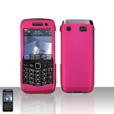 Blackberry Pearl 3G 9100 Pink Cover Case Snap on Protector