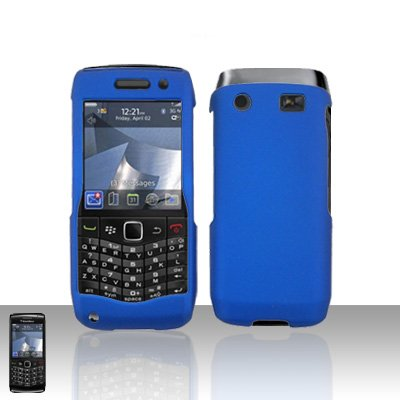 Blackberry Pearl 3G 9100 Blue Cover Case Snap on Protector