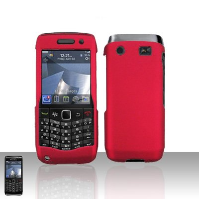 Blackberry Pearl 3G 9100 Red Cover Case Snap on Protector