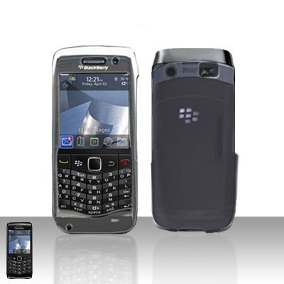 Blackberry Pearl 3G 9100 Clear Transparent Cover Case Snap on Protector