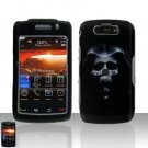 Blackberry Storm II 9550 Hooded Skull Cover Case Snap on Protector Storm 2 9550
