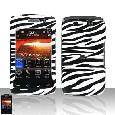 Blackberry Storm II 9550 Zebra Cover Case Snap on Protector Storm 2 9550