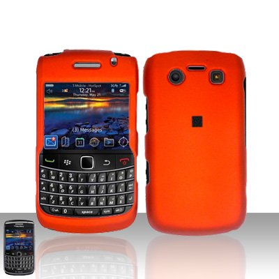 Blackberry Bold 9700 Onyx Orange Cover Case Snap on Protector