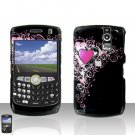 BLACKBERRY CURVE 8350i 8350 Pretty Heart Case Cover Snap on Protector