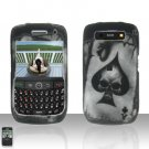 Blackberry Curve 8900 Javelin Spade Skull Cover Case Hard Case Snap on Protector