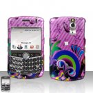 Blackberry Curve 8330 8300 Butterflies Design Pink Hard Snap on Case Cover